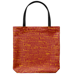 Magic Spells House Colors Tote Bag