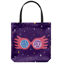 Load image into Gallery viewer, You're Just As Sane As I Am Spectrespecs Tote Bag