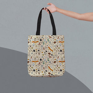 Wizarding Objects Tote Bag