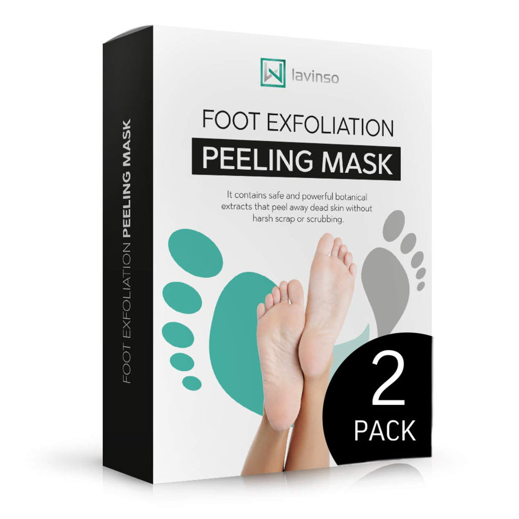 Foot Peel Mask — Removes Calluses and Dead Skin Cells | Lavinso