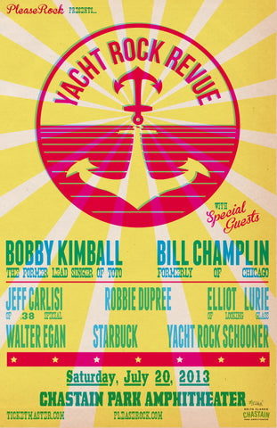 2013 Yacht Rock Revival Poster (Download)