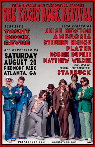 2016 Yacht Rock Revival Poster (Download)