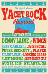 2018 Yacht Rock Revival Poster (Download)