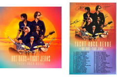 Album Bundle: Signed 2020 Tour Poster & HOT DADS in TIGHT JEANS CD or Vinyl