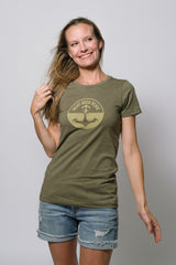Yacht Rock Revue Logo Tee (Ladies)