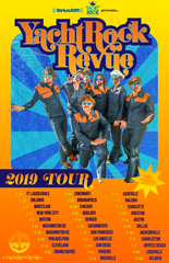 Yacht Rock Revue Tour Poster- Spring 2019 (Download)