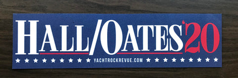 Hall And Oates 2020 Tour Yacht Rock Store — Hall / Oates 2020 Bumper Magnet