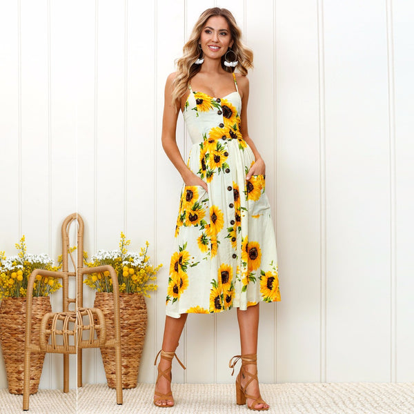 Sunflower May Sun Dress