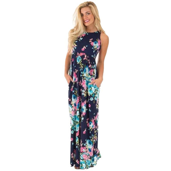 Blue Dream Maxi Dress