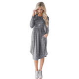 Dotty West Midi Dress