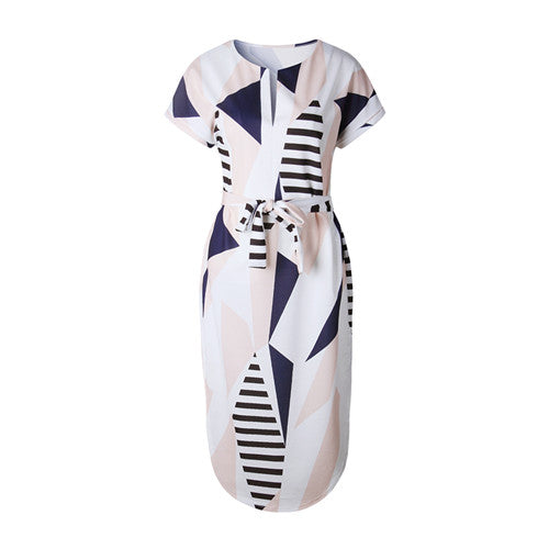 Ninety Nautica Midi Dress