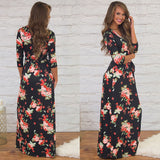 Every Rose Maxi Dress