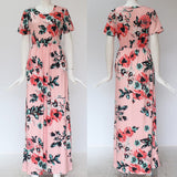 Delicate Flower Maxi Dress
