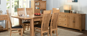 Curved Oak Furniture