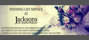 Have Your Wedding & Gift List With Us