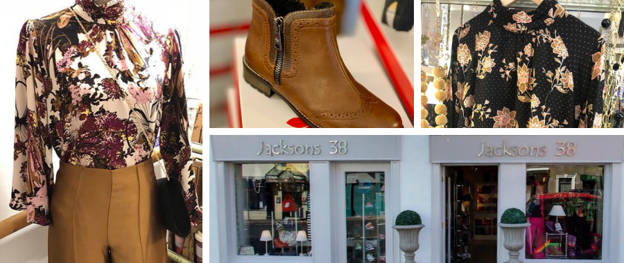 Jacksons 38 Boutique Fashion, Shoes and Boots
