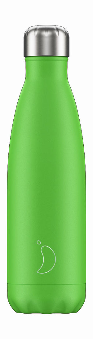 Chilly's Bottle Neon Green 500ml