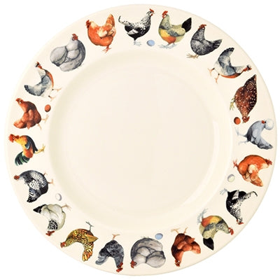 Emma Bridgewater Hen and Toast 10 1/2 Plate