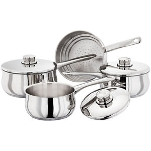 Stellar Saucepan Set -  3 Piece and Steamer