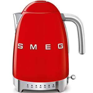 Smeg Red Temperature Variable Kettle 50's Style  KLF04RDUK