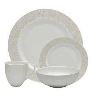 Denby Lucille Gold 16pce Dinner Set