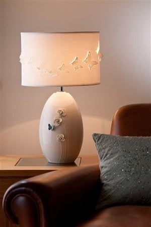Belleek Living Butterfly Lamp