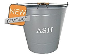 Manor Ash Bucket Grey