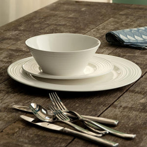 Belleek Ripple 12 Piece Dinner Set