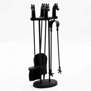 Companion Set Black Horses