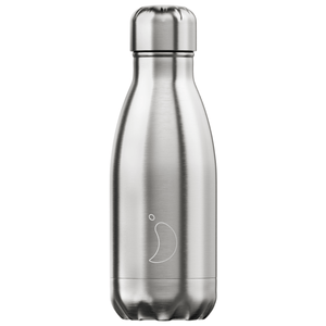 CHILLY'S BOTTLES Stainless Steel 260ml Bottle