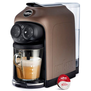 Lavazza Desea Walnut Brown Coffee Machine 18000289