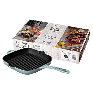 Denby Cast Iron Pavilion 25cm Griddle Pan