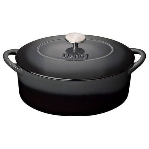 Denby Halo Cast Iron 28cm Oval Casserole