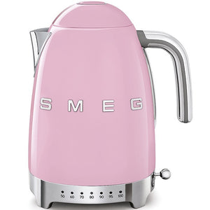 Smeg Pink Variable Temparature Variable Kettle KLF04PKUK