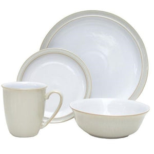 Denby Linen 16 Piece Dinner Set