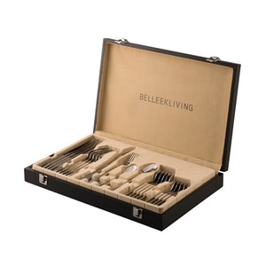 BELLEEK LIVING OCCASIONS 24-PIECE CUTLERY SET