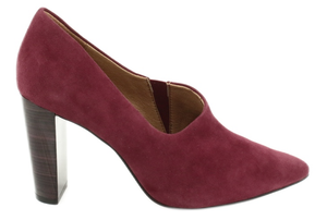 Caprice ladies shoes 24402-25 wine suede, high heel