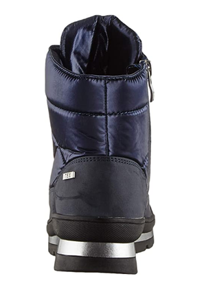 Caprice ladies 126212-25 Ocean comb, blue snow boots, ankle length