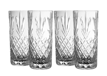 Galway Renmore Hiball Glasses Pack of 4