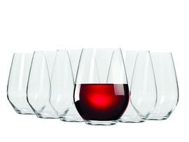 Maxwell and Williams Vino Glasses Pack of 6 - Stemless