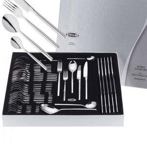 x2 Stellar Rochester Polished 44 Piece Cutlery Boxed Sets BL58, TWO SET OFFER!
