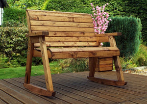 2 Seater Rocker Garden Bench Charles Taylor