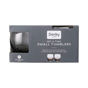 Denby Halo Small Tumblers Pack of 2 0.35L