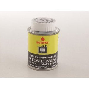 Hotspot 201010 Stove Paint Tin Black 100ml - Jacksons of Saintfield