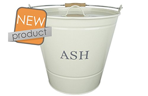 Manor Ash Bucket With Lid Cream 0349