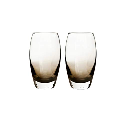 Denby 0.55 Litre Large Glass Halo Praline Large Tumbler Pack of 2