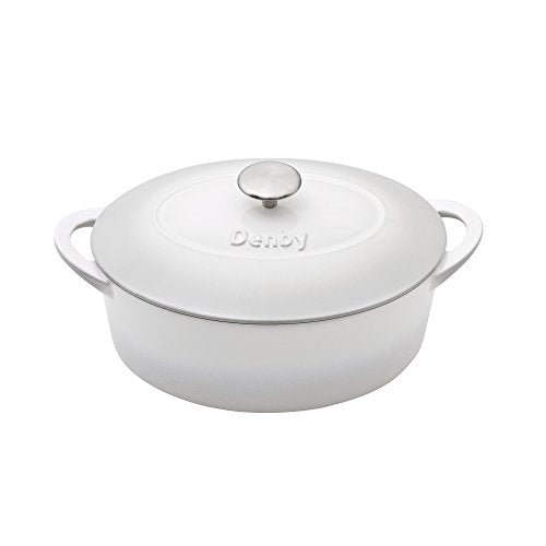 Denby Natural Canvas Cast Iron 28Cm Oval Casserole, 21 x 34 x 14 cm - Jacksons of Saintfield