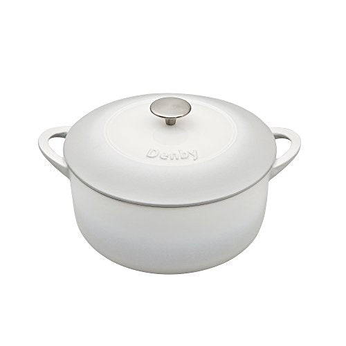 Denby Round Casserole Natural Canvas 26 cm - Jacksons of Saintfield