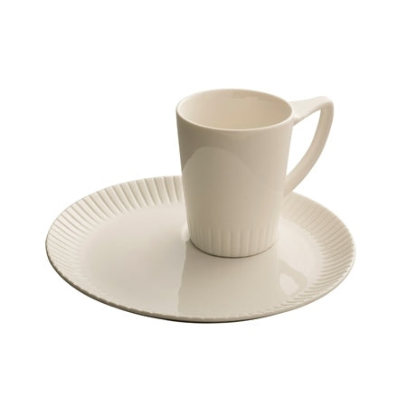 BELLEEK LIVING ATLANTIC MUG AND TRAY SET