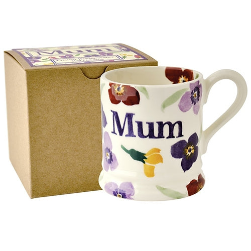 Emma Bridgewater Wallflower Mum Half Pint Mug